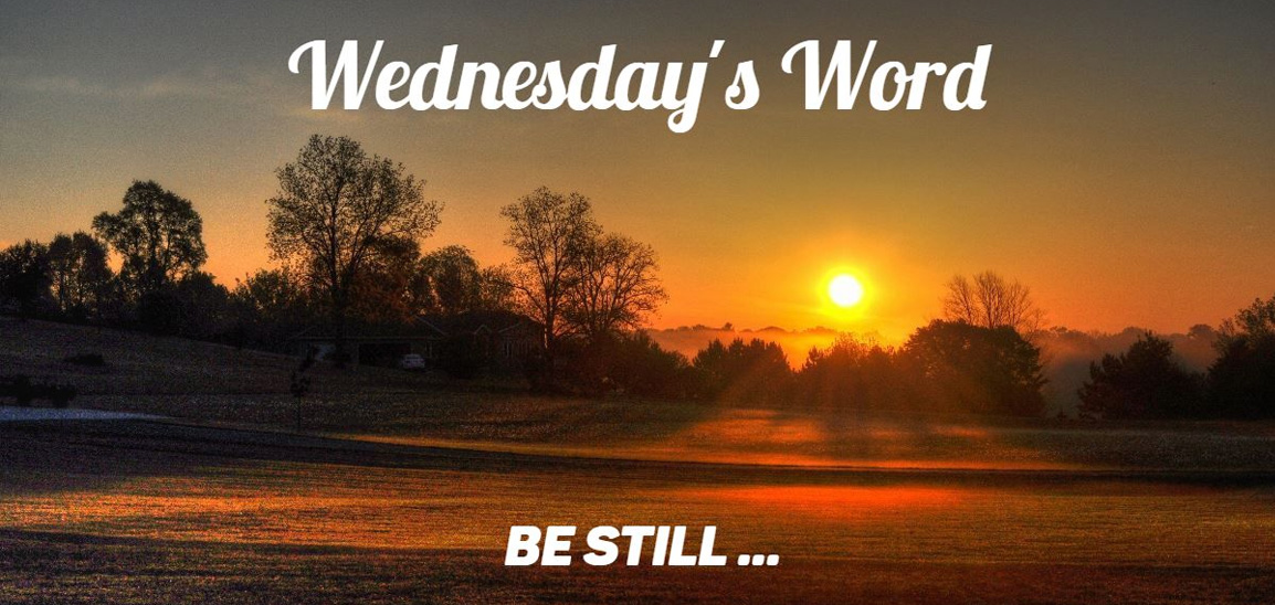 Wednesday's Word - August 26, 2020